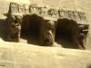 18. Modillones con esculturas románicas
